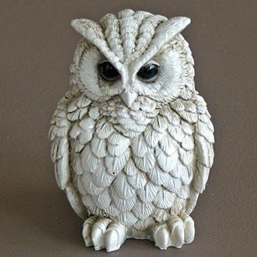 Owl Figurine - Doris and Jeannie