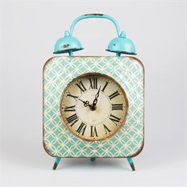 MODERN MOROCCO FES TABLE CLOCK - Doris and Jeannie