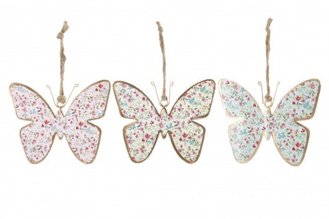3 Assorted wild and free butterflies - Doris and Jeannie