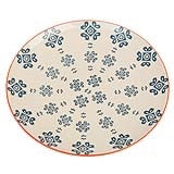 Moorish plate medina blue tile - Doris and Jeannie