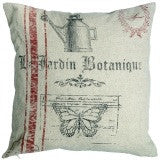 Le jardin botanique cushion cover - Doris and Jeannie