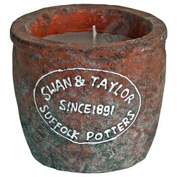 Swan & Taylor candle pot Terracotta - Doris and Jeannie