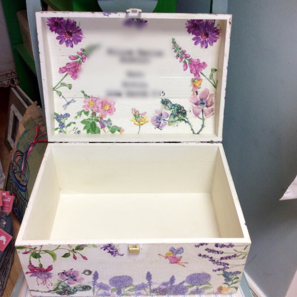 Large Personalised Memory Box