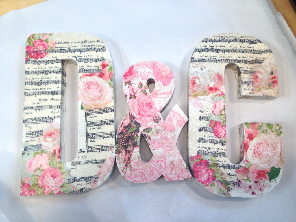 1 x Wooden Letter 12 inch