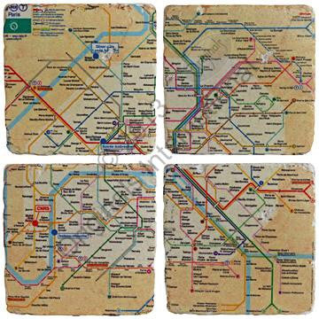 Paris Metro Coasters S/4 - Doris and Jeannie
