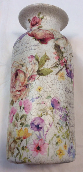 Personalised Handmade Vase - Doris and Jeannie - 2
