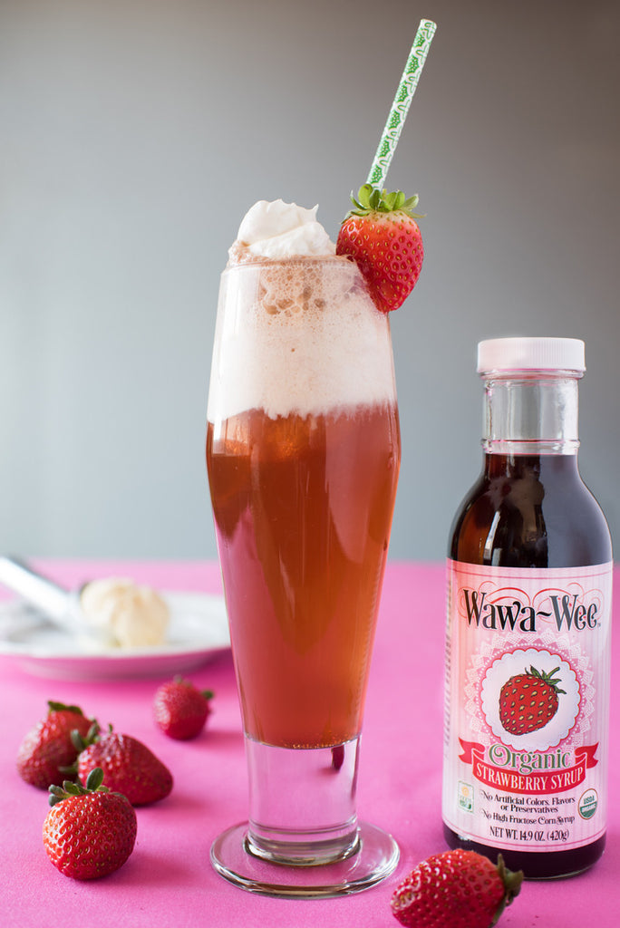 Wawa-Wee Strawberry Soda