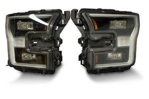 Pair: 2015-2017 Ford F150 OEM LED Headlights