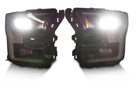 Image of Pair: 2015-2017 Ford F150 OEM LED Headlights - American Retrofits