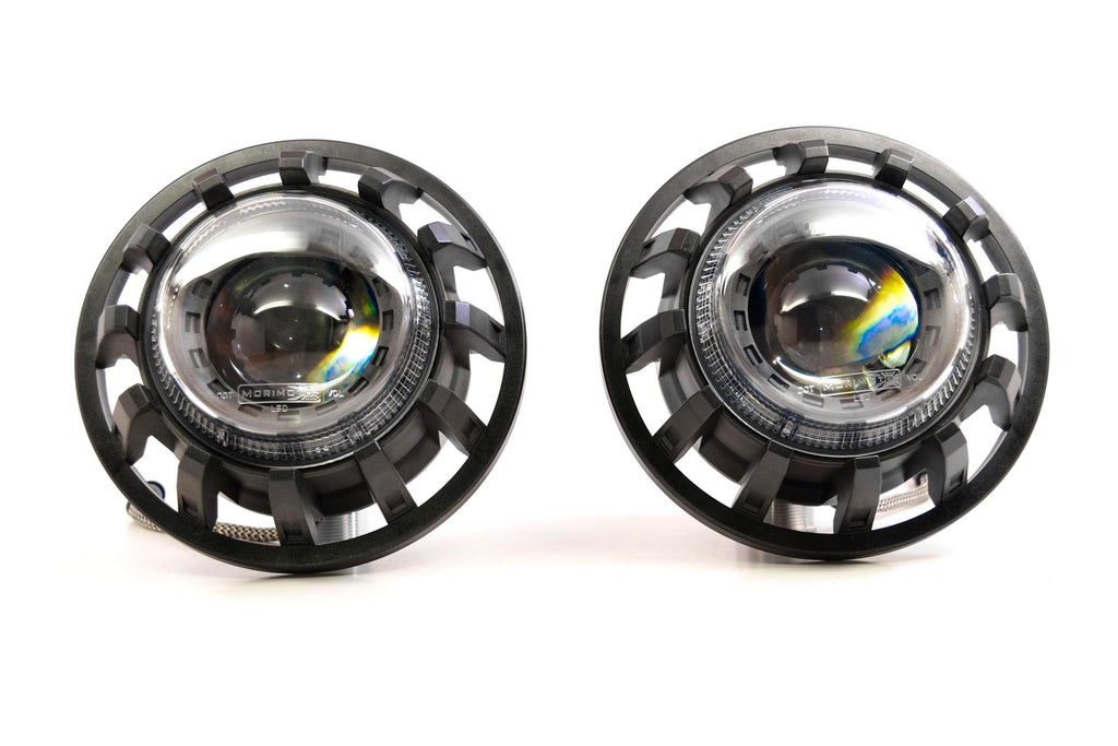 Pair: Morimoto Super7 Bi-LED Headlights - American Retrofits