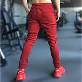 FFS Slim-Joggers - Men's Slim Fit Jogging Pants w Graduated Fit & Zip Phone Pocket