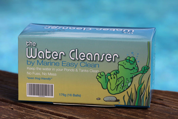 The Water Cleanser Aquarium balls - for healthy, clean, and algae-free water - package of 16