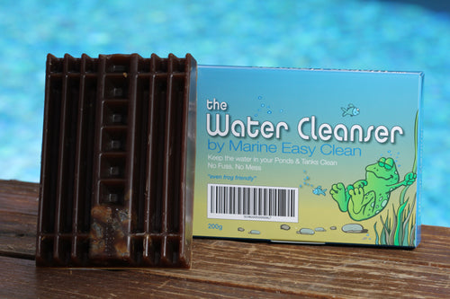 The Water Cleanser Pond block (200g) - for healthy, clean, and algae-free water - product and package