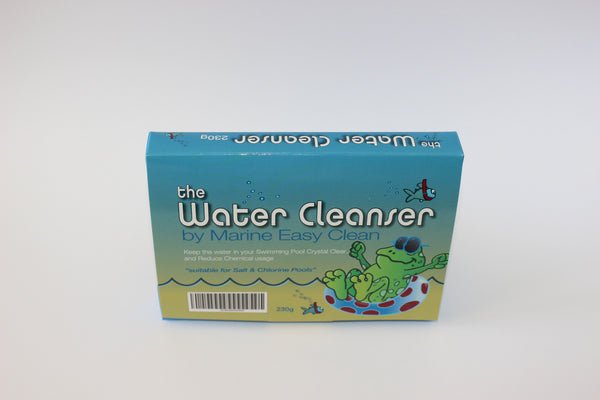 The Water Cleanser Pool block (230g) - for healthy, clear, and algae-free water - box