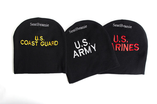 Armed Service Beanie - Support Homeless Veterans