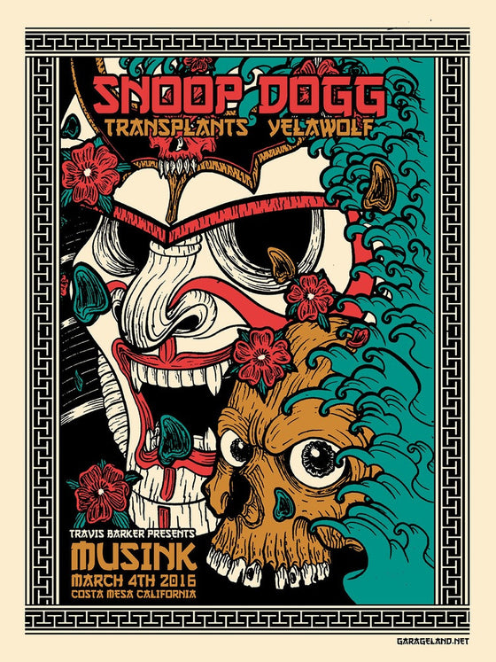 3/4/2016 Musink Event Poster - Lou X-Ray