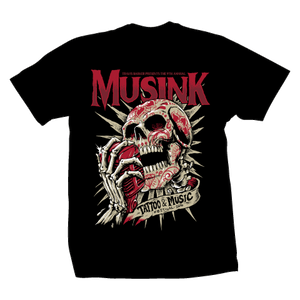 Musink Shout It Out Tee Black
