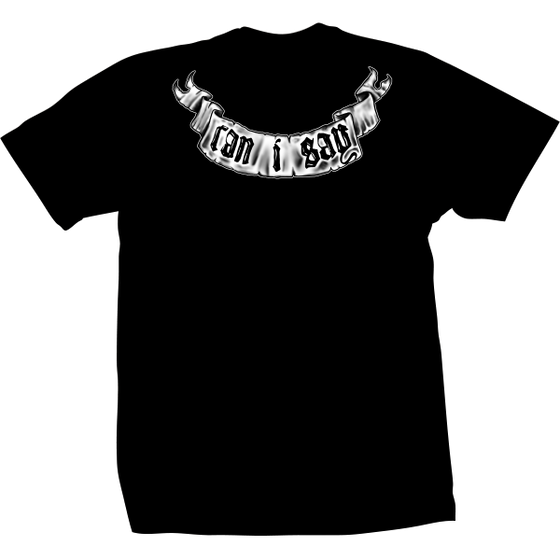 Travis Barker Can I Say Tee Black