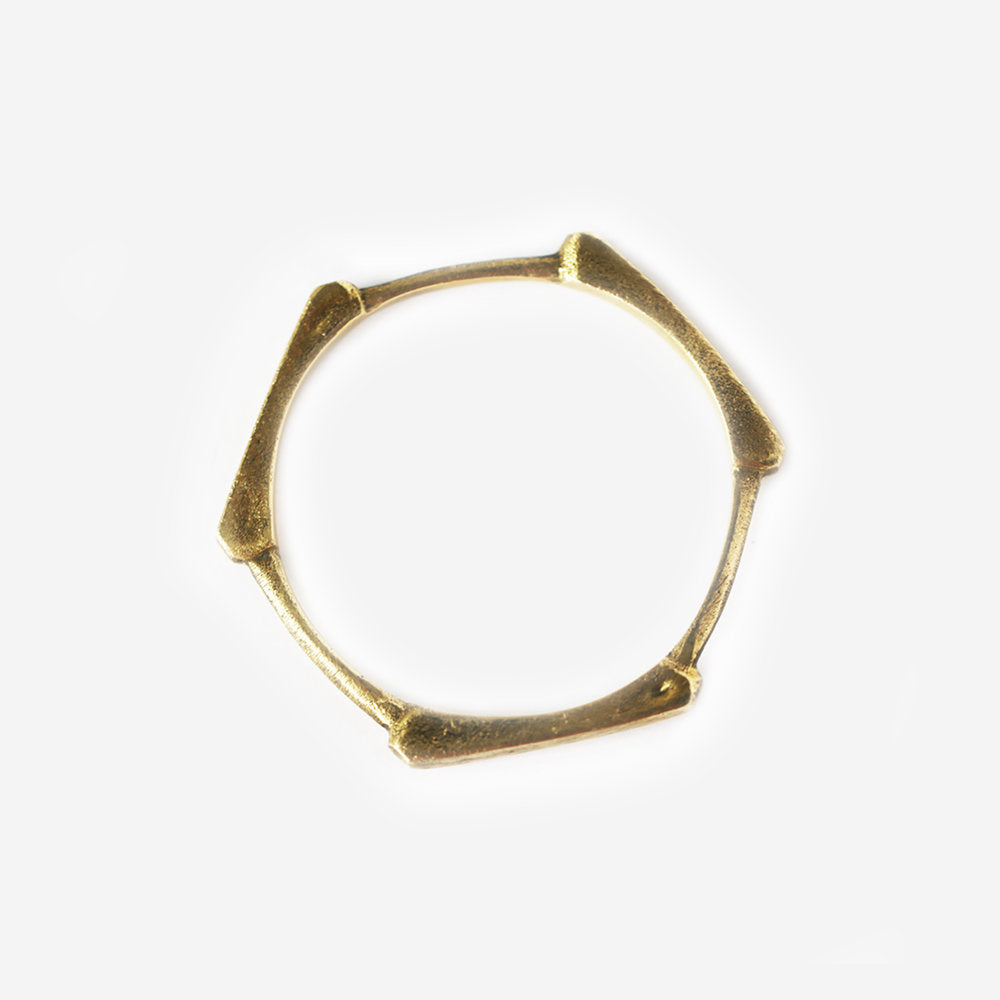 Solid Brass Bangle