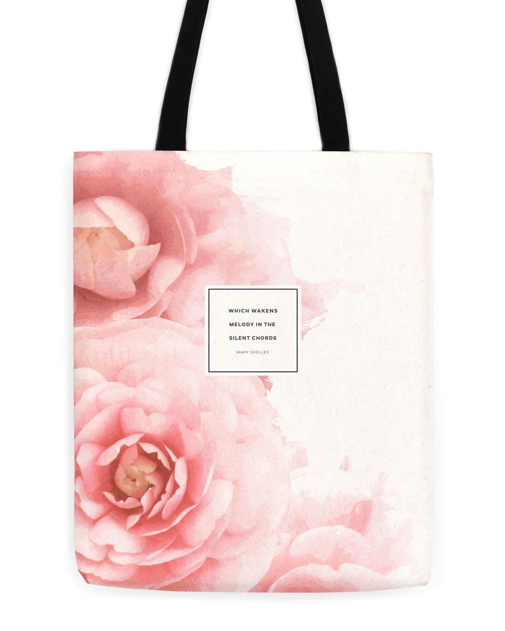 Floral Literary Tote
