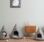 Dog / Cat Pet Bed: TeePee