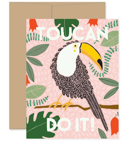 Card: Toucan Do It