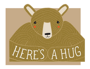 Card: Bear Hug