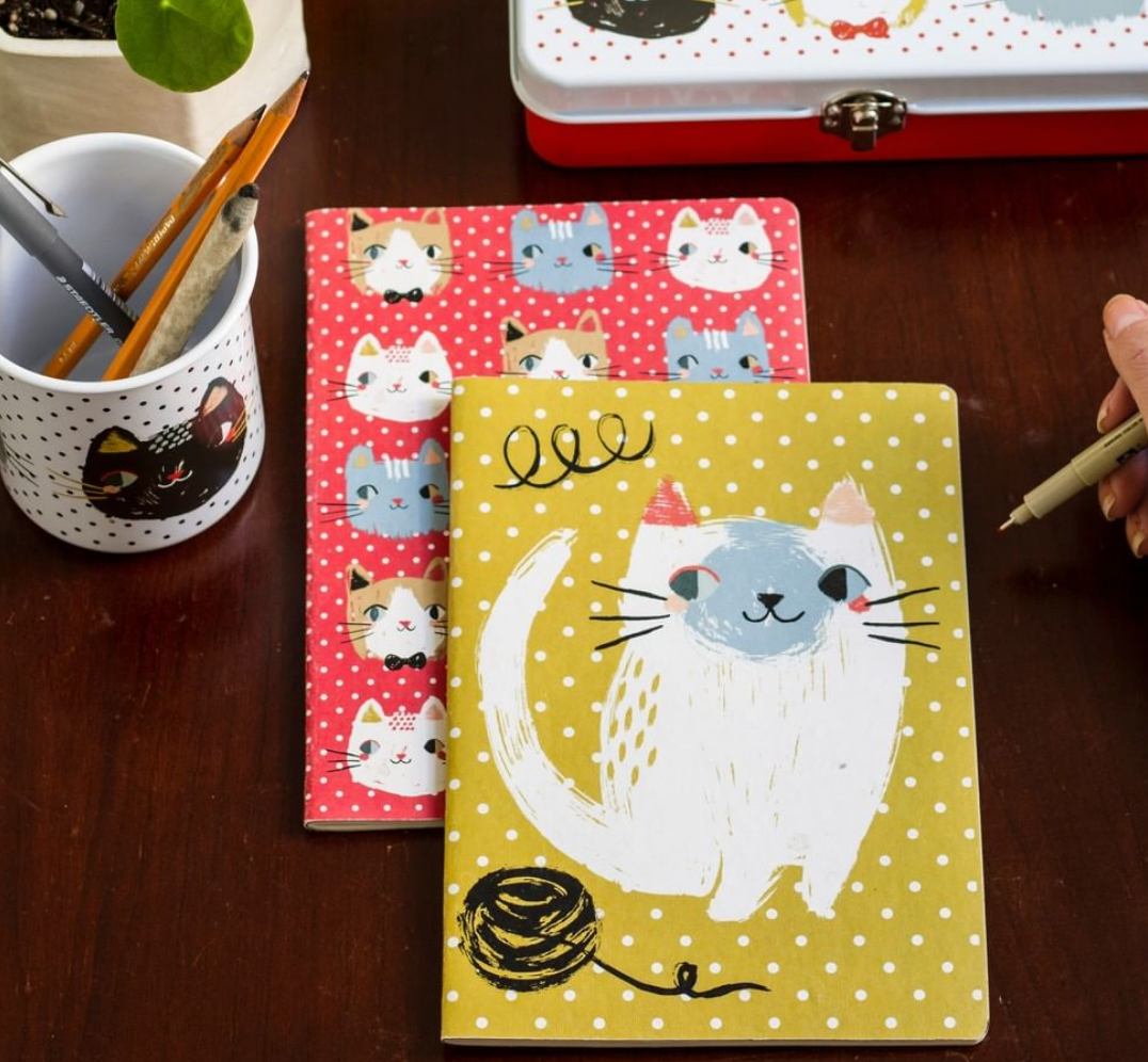 Kitty Cat Notebook Set