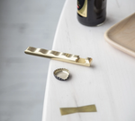 Ripple Bottle Opener: Brass