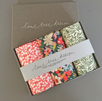 Box of Floral Hankies / Pocket Square