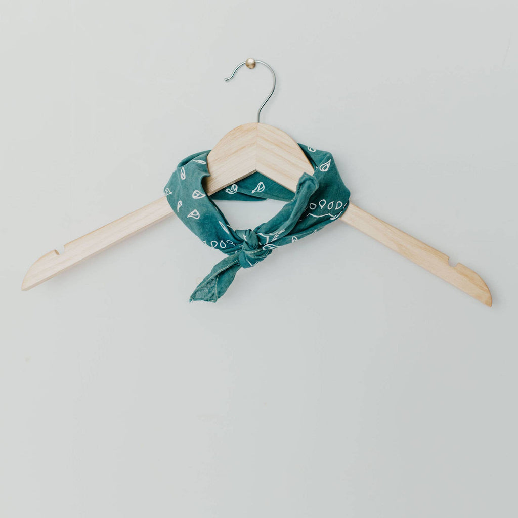 Feel Good Teal Bandana