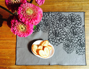 Napkin/Placemat  Linen - Screen Print