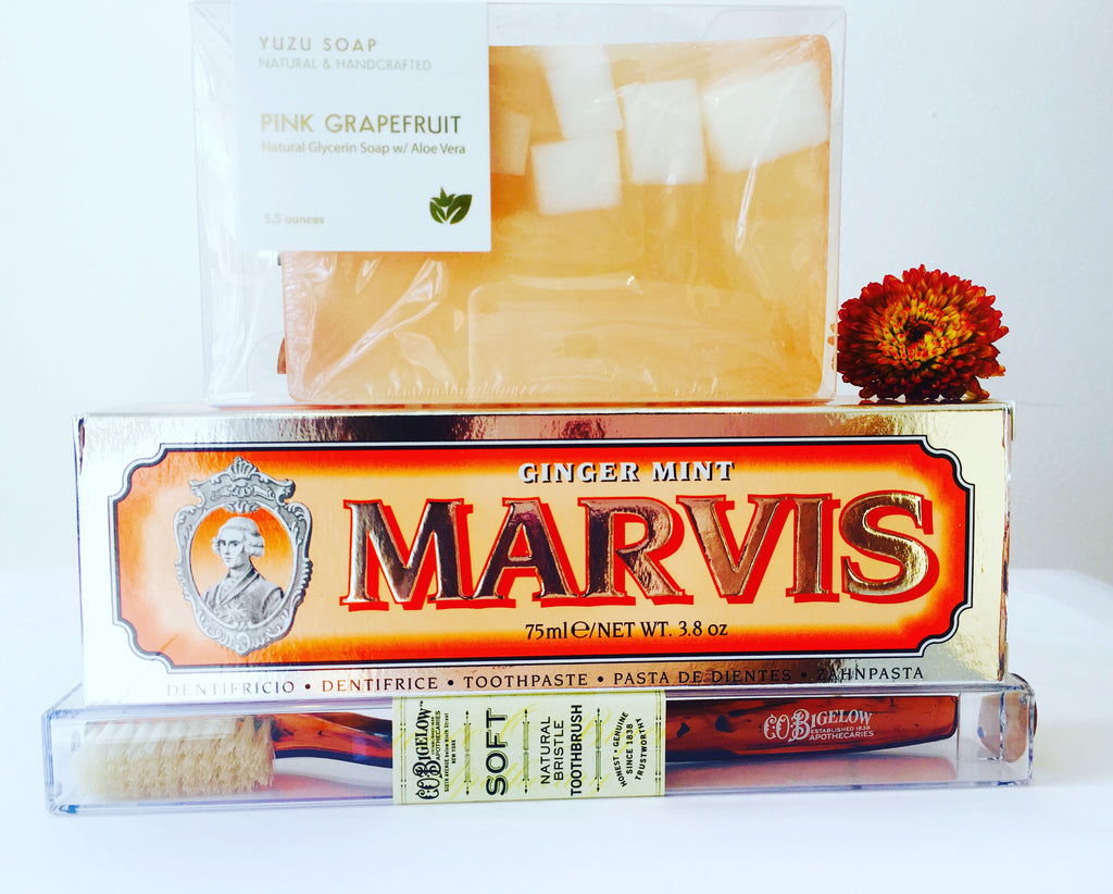 Marvis Toothpaste: Ginger Mint