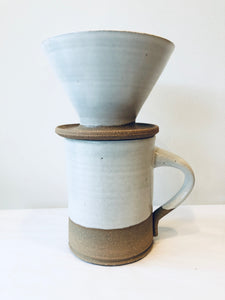 Pour Over With White Glaze