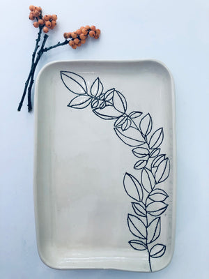 Botanical Leaf Trays