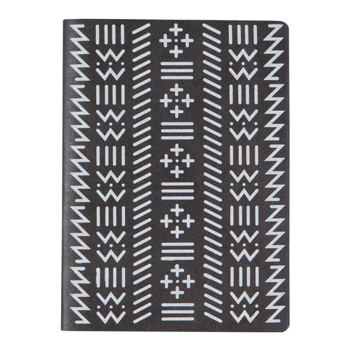 Black & White Zig Zag Notebook
