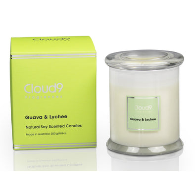 Guava & Lychee Scented Candle