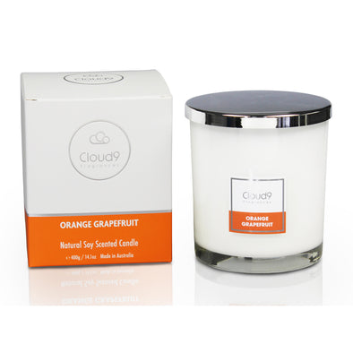 Orange Grapefruit Large Scented Candle