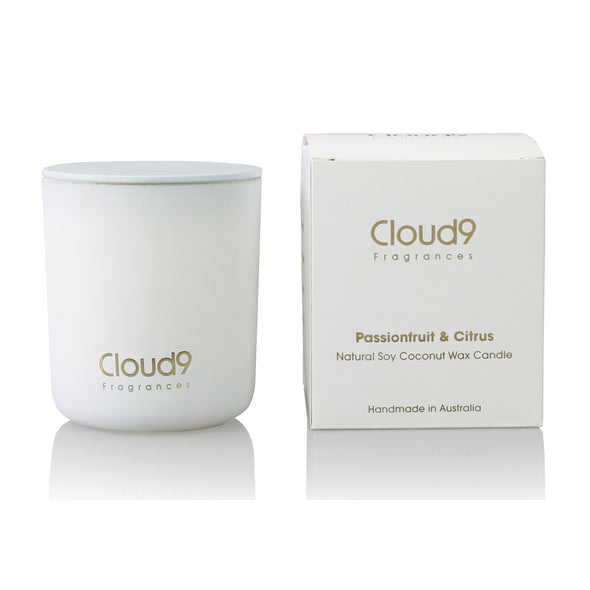 Passionfruit & Citrus Scented Candle