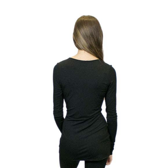 CA6 Scoop Neckline with Solid or Color Trim, Sustainable. Made in the USA