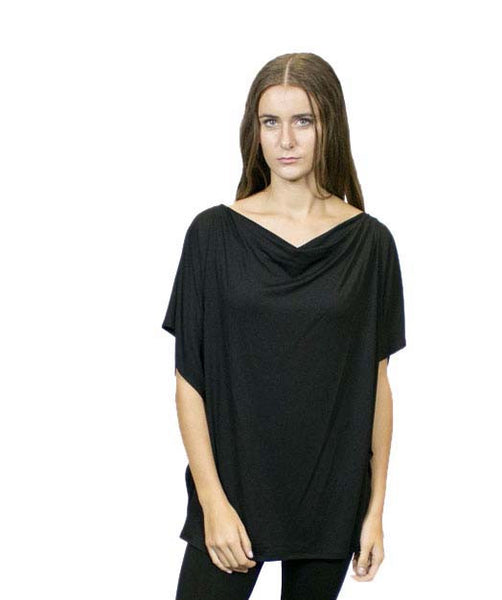 CA10  Tunic Cape,Sustainable. Made in the USA