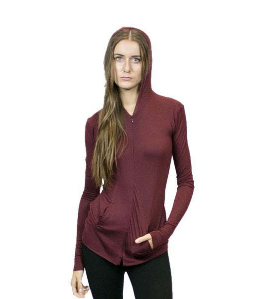 CA4 Zipper Front Hoodie, Sustainable. Made in the USA