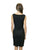 CASP4D37 Sleeveless Cowl Neck Dress, Sustainable. Made in the USA