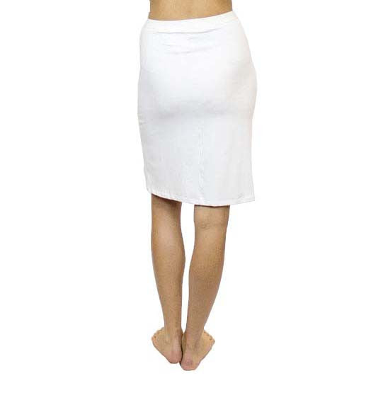 CAB5 Knee Length Skirt, Sustainable. Made in the USA