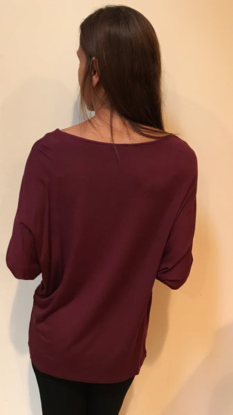 Style CA19 Long Dolman Sleeves Tunic
