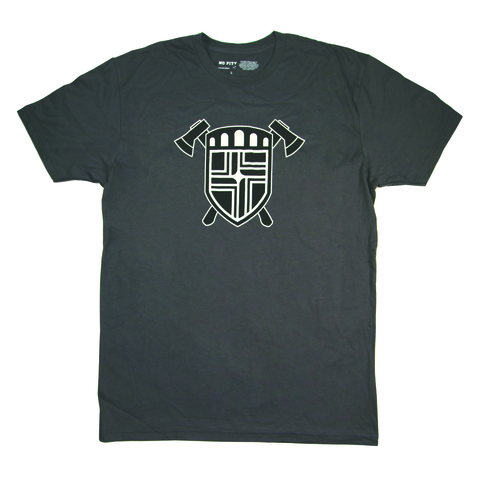 Flag Crest & Axes Men's T-Shirt