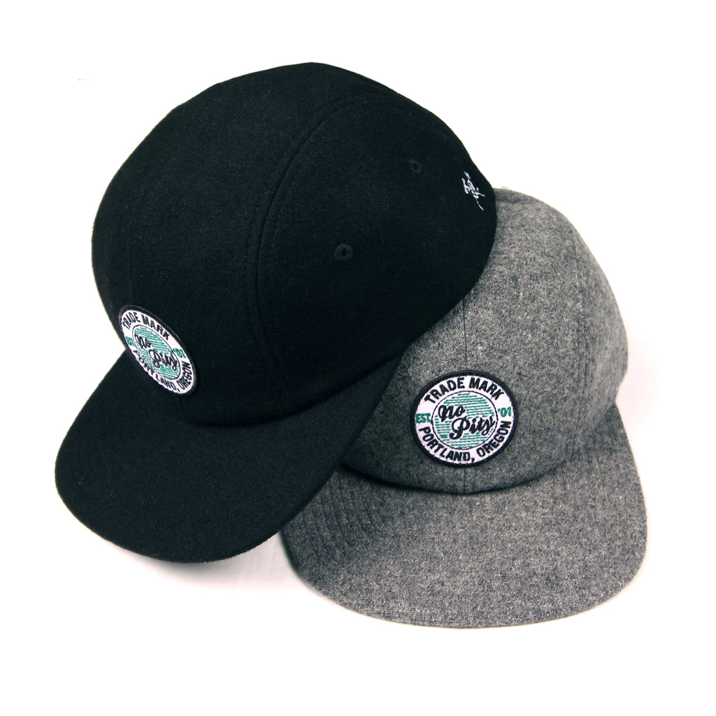No Pity Trd Mark Wool 4-Panel Hat