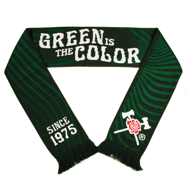 Green is the Color Scarf