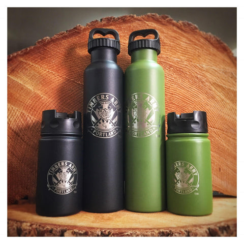 12 oz Insulated Bottle w/ Flip Lid