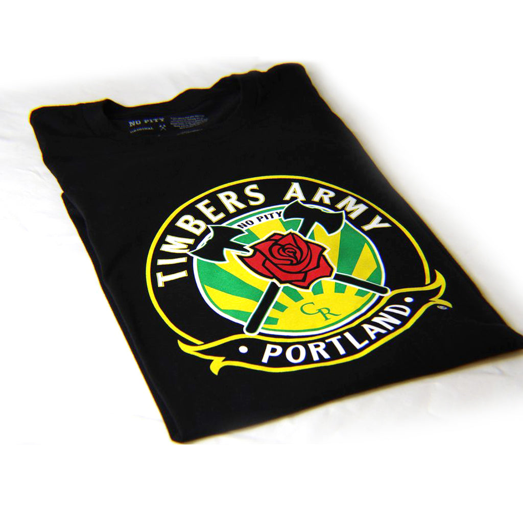 Timbers Army Crest Men's T-Shirt